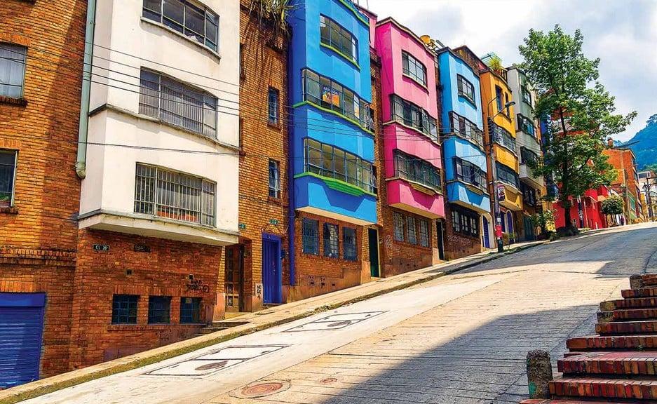 Conhecer o bairro La Macarena em Bogotá