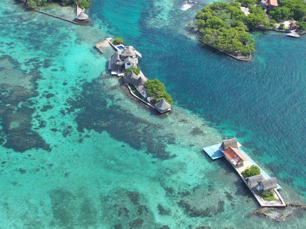 Visitar as Ilhas do Rosário emCartagena das Índias