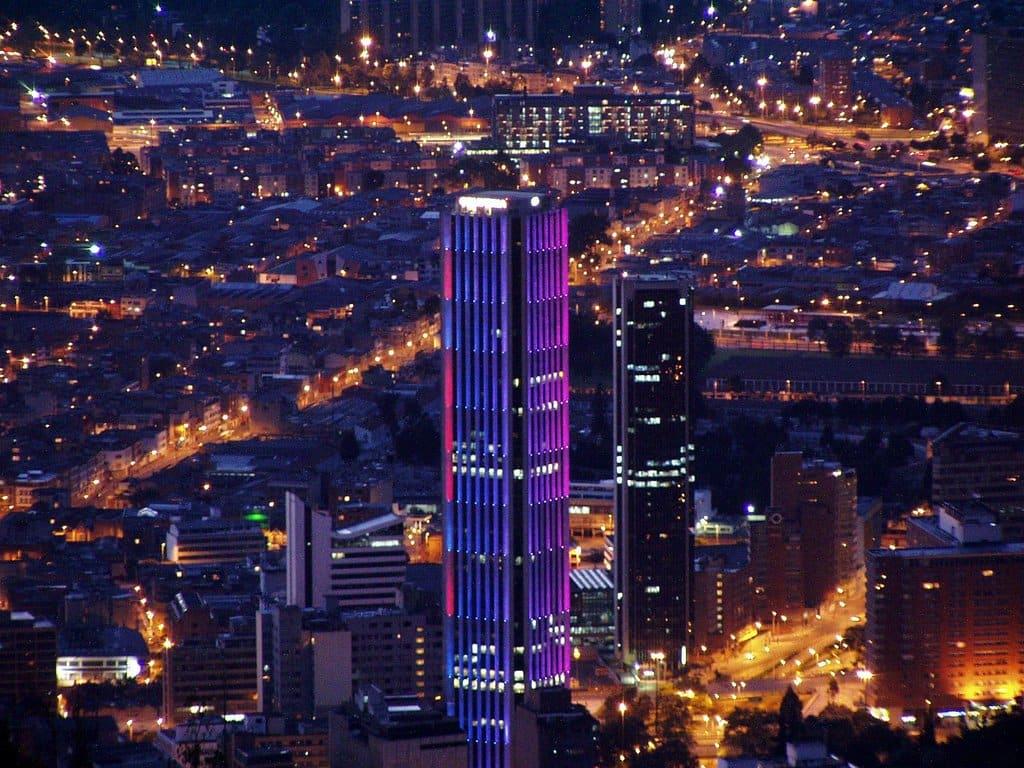 O que fazer à noite em Bogotá