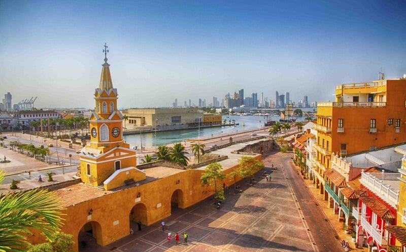 Ficar hospedado na Cidade Amuralhadaem Cartagena