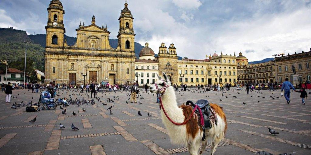Pontos turísticos em Bogotá