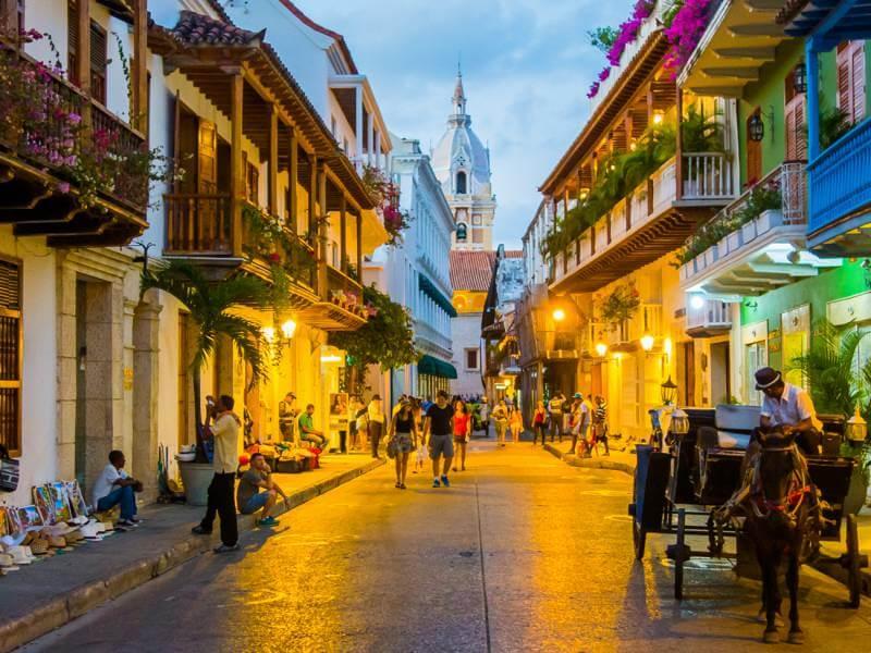 Ruas da Colômbia