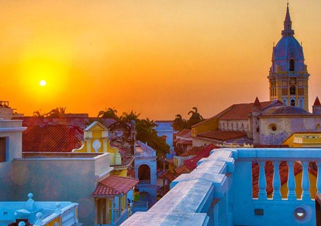 Pontos turísticos em Cartagena