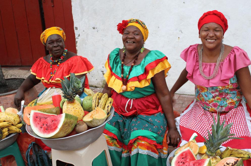 Nativas colombianas na Colômbia