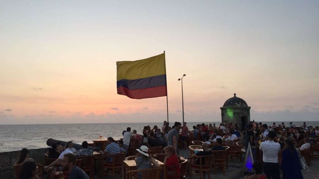 Verão e inverno na Colômbia