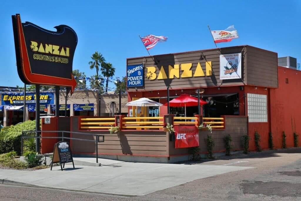 Banzai Cocktail Bar em San Andrés