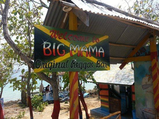 Big Mama Reggae Bar em San Andrés