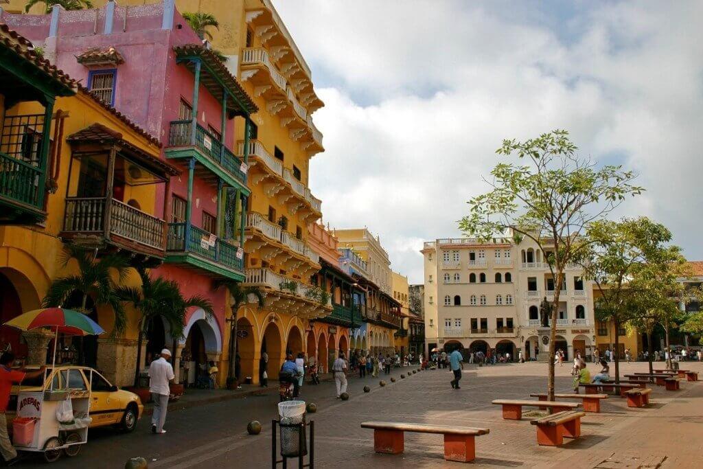 Inverno em Cartagena