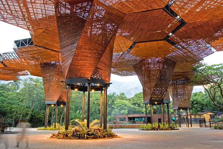 Jardim Botânico em Medellín