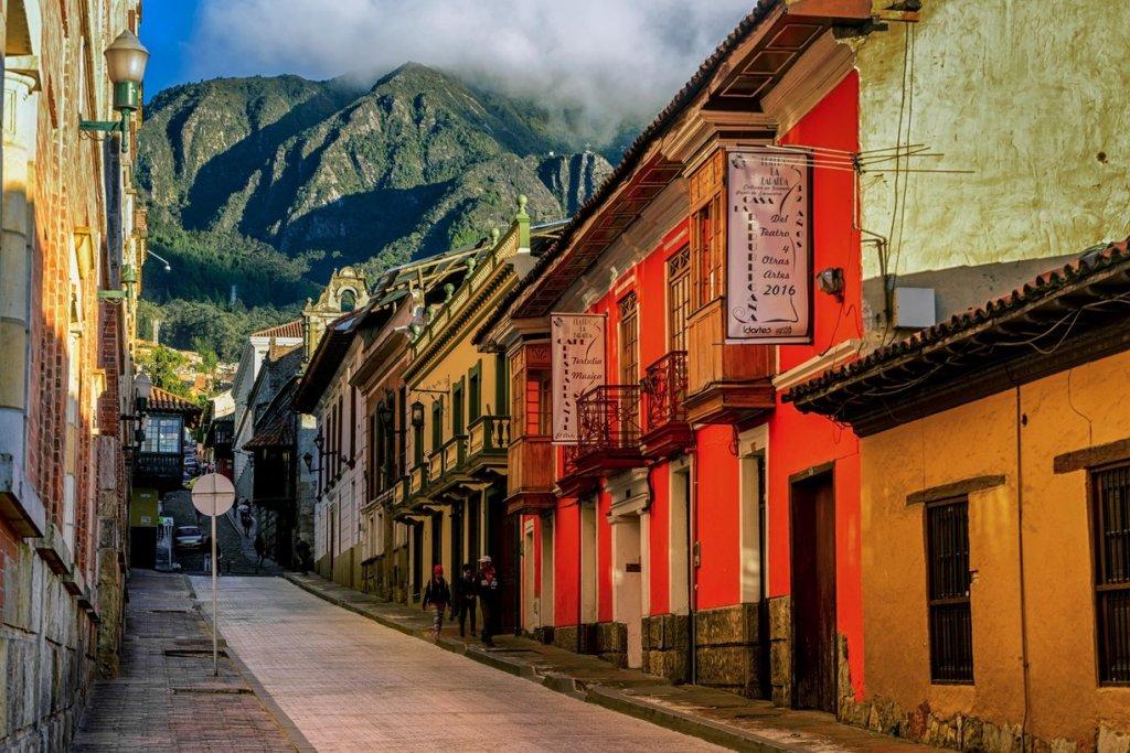 Bairro de La Candelaria em Bogotá