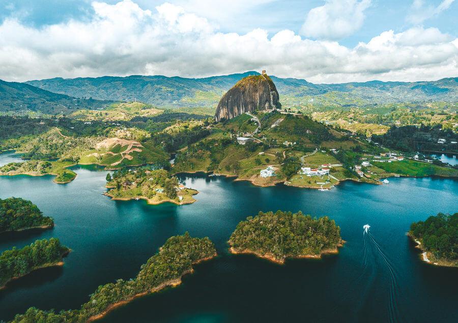 Guatapé, na Colômbia
