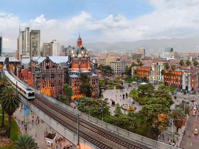 Como andar em Medellín