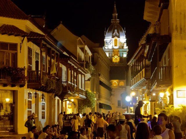 O que fazer à noite em Cartagena