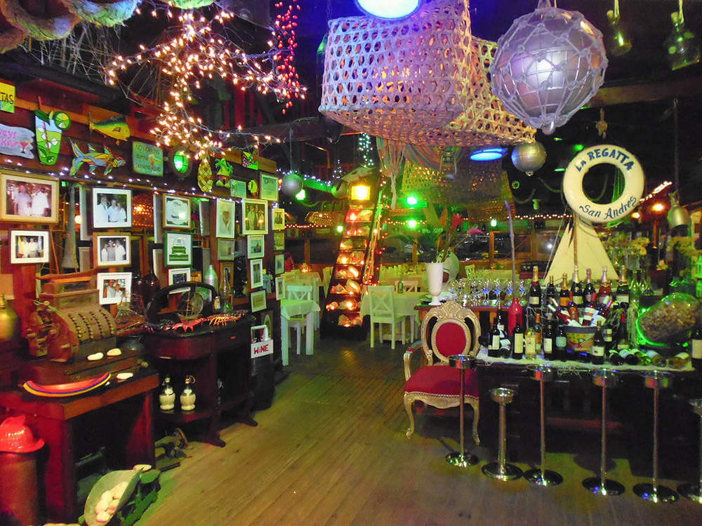 Restaurantes em San Andrés: La Regatta