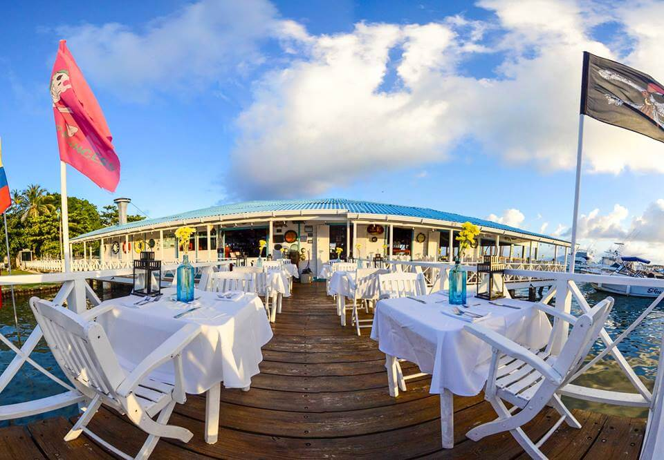Gorjetas em restaurantes, lanchonetes e bares em San Andrés
