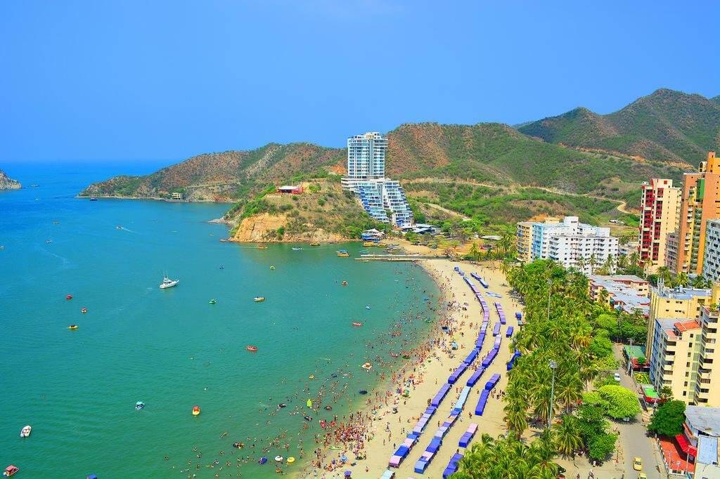 Melhores cidades da Colômbia: Santa Marta