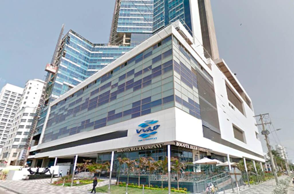 Centro Comercial NAO em Cartagena