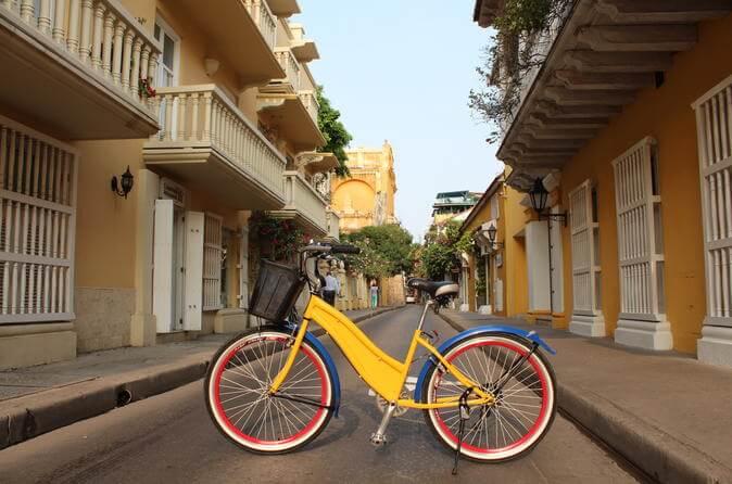 Como andar de bicicletas por Cartagena