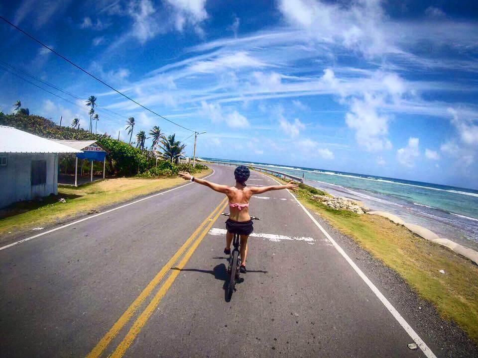 Como andar de bicicletas em San Andrés