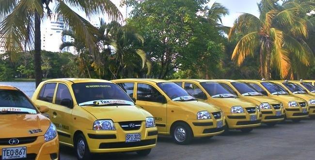 Gorjetas em táxis de Medellín