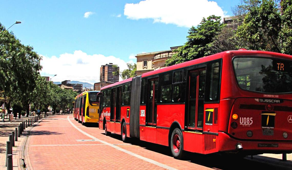 Como andar em Bogotá
