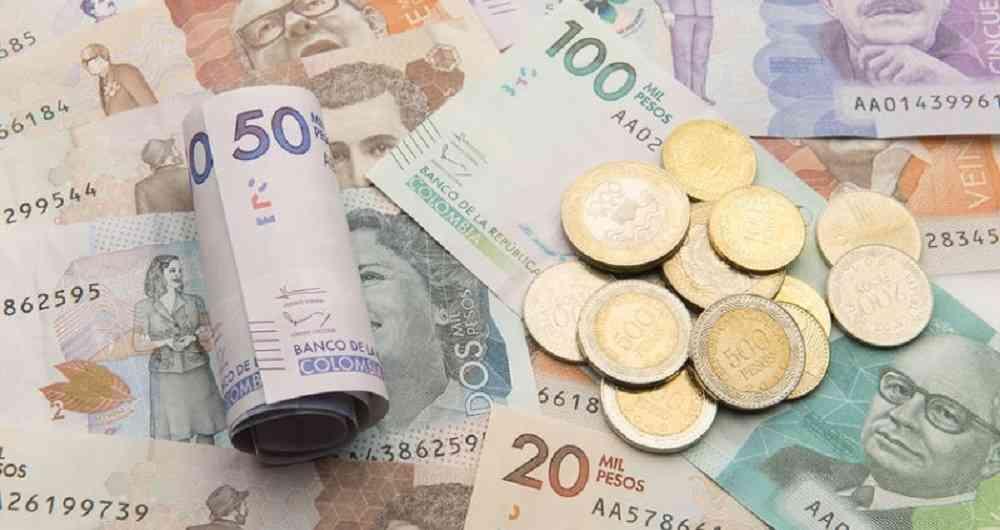 Pesos colombianos
