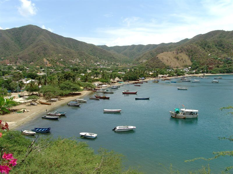 Playa Taganga - Taganga