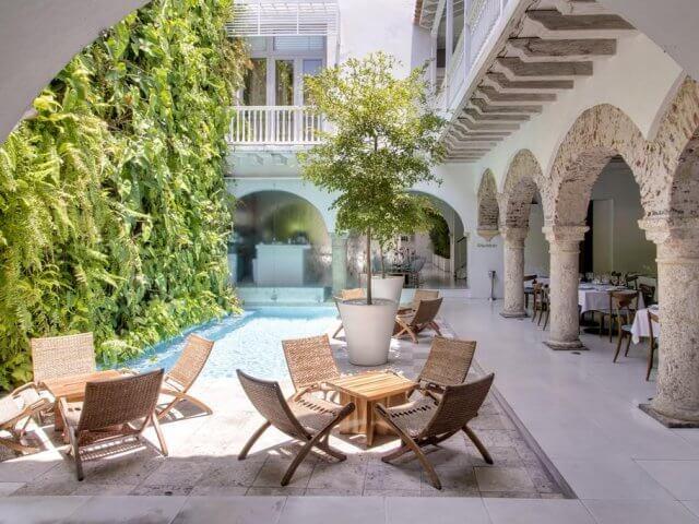 Hotéis de luxo em Cartagena