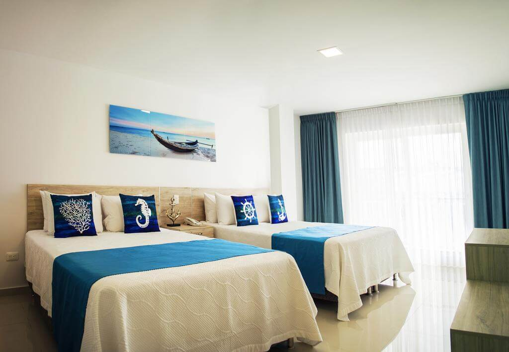 Quarto do Sea Colors Hotel