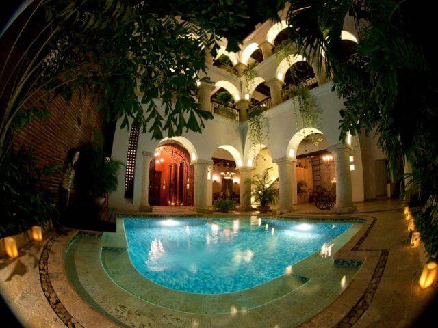Hotéis no centro turístico de Cartagena